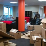 Moving into Stockholm office