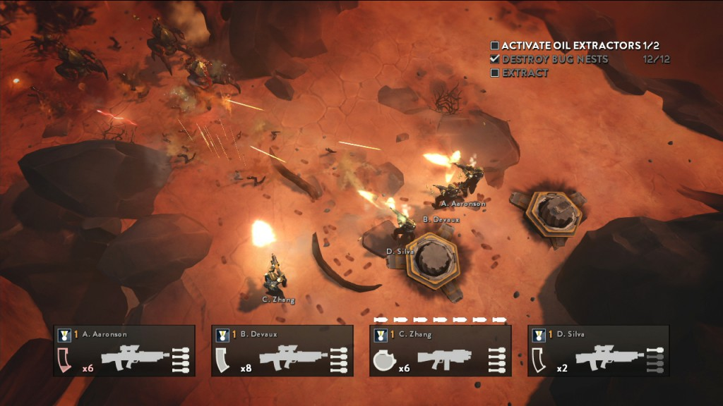 HELLDIVERS PS3 3-Dawn Attack