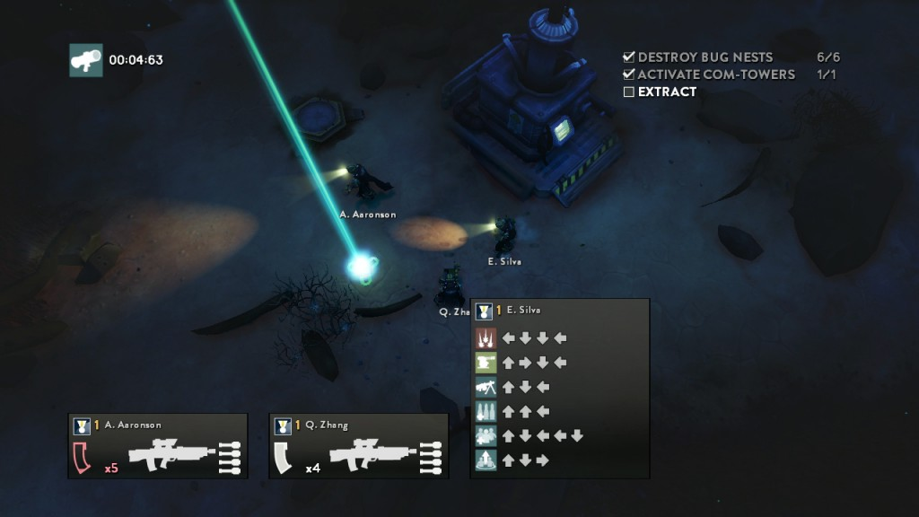 HELLDIVERS PS3 8-Night HUD